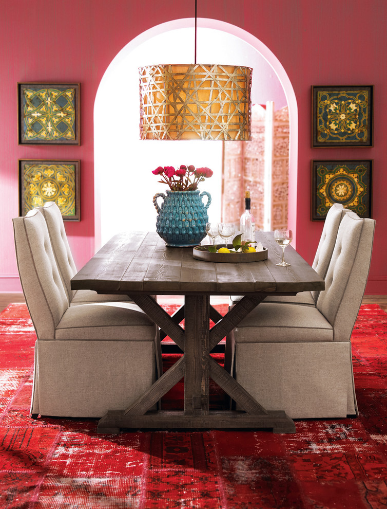 Create an elegant dining room with 3 easy steps from the for Eclectic dining room designs
