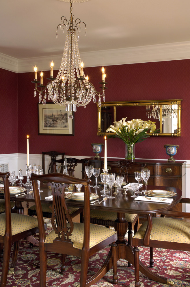 Create an elegant dining room with 3 easy steps from the for Traditional dining room design ideas
