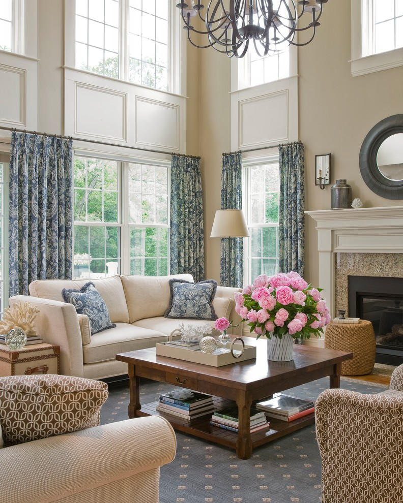 Family Living Room Designs: Get Stylin' With Pantone's Top 6 Trending Colors For 2014