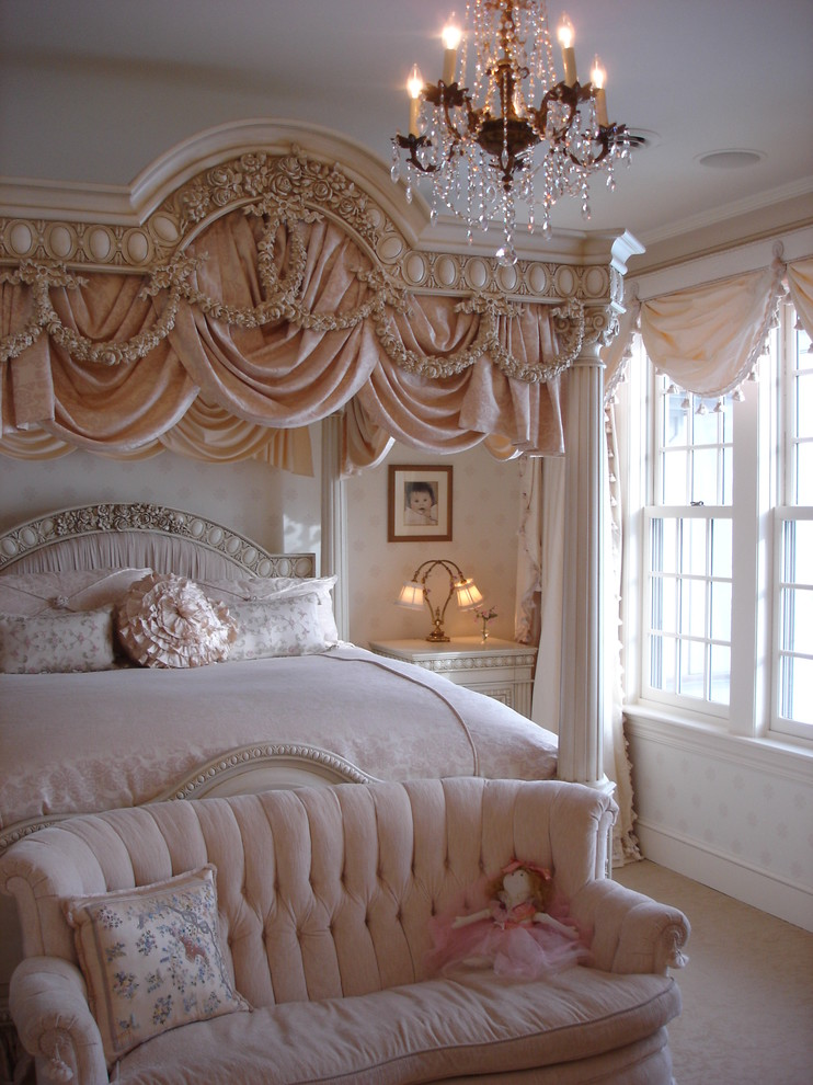 Girl s guide 101 how to decorate the perfect girly for Bed styles images