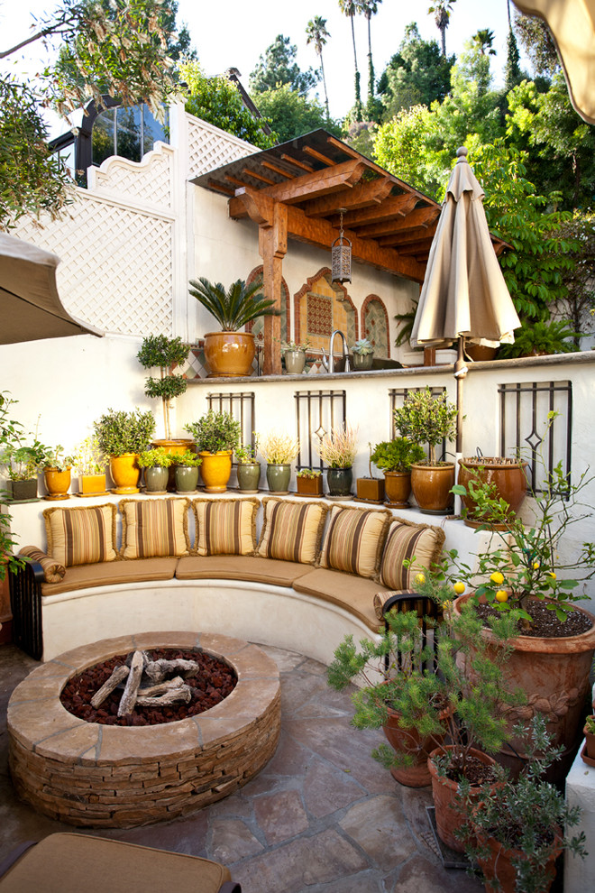 c & c partners outdoor seating fire pit patio decor kitchen summer--patio