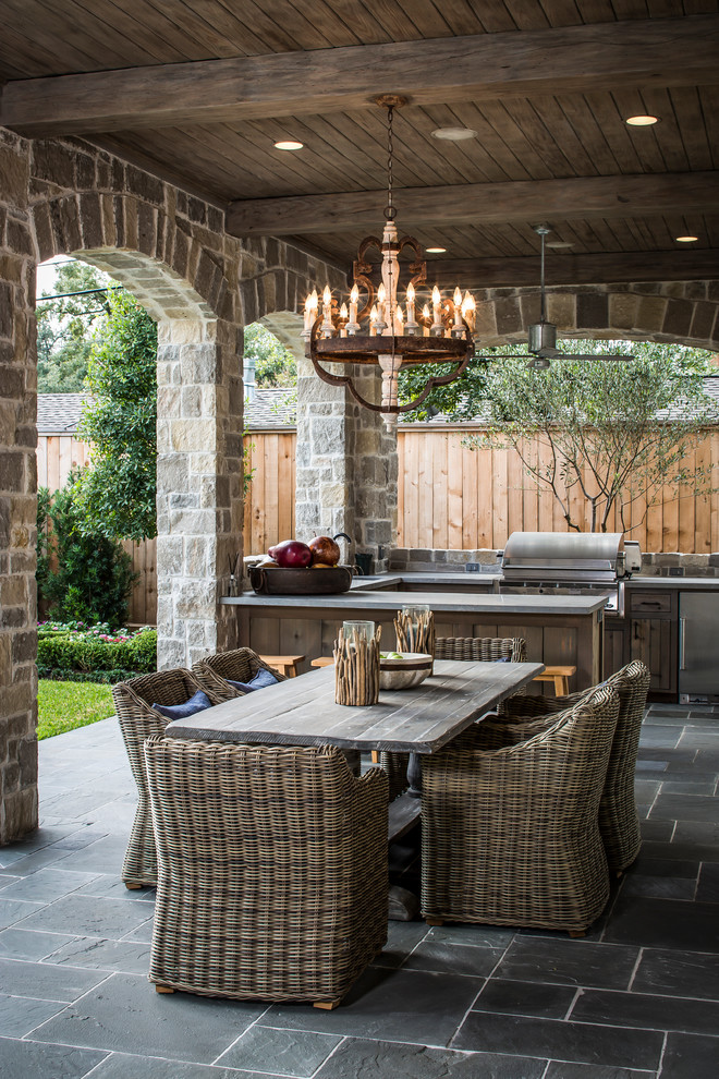 Spring Prep 101: Creating an Outdoor Kitchen ... on Outdoor Kitchen With Covered Patio id=87209