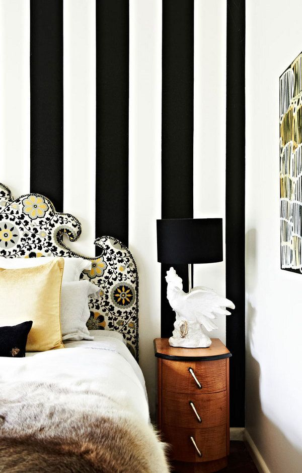 tumblr striped walls fur throw better decorating bible blog