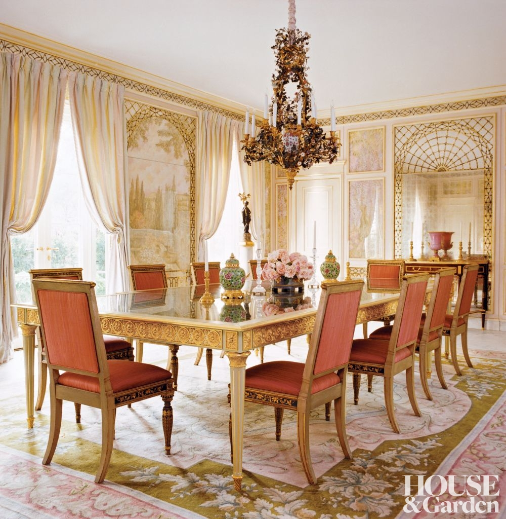 Exclusive giveaway with french charmed antique shop Dining room designs 2014