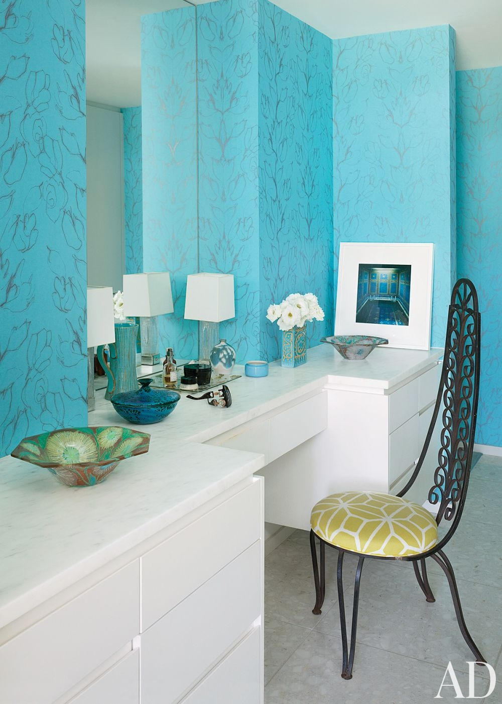 modern bathroom emily summers design associates indian wells
