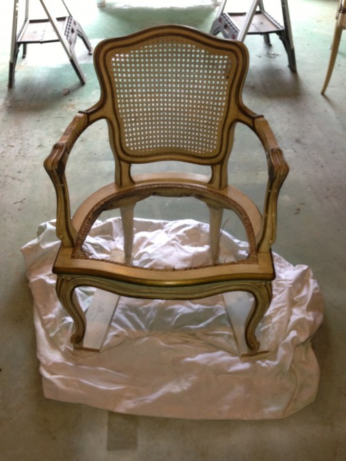 2 french country chair reupholstery makeover how to paint fabric