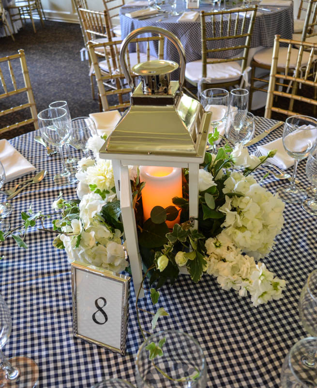 hansens flowers lantern candle lighting wedding ideas how to easy better decorating bible block checkered table cloth