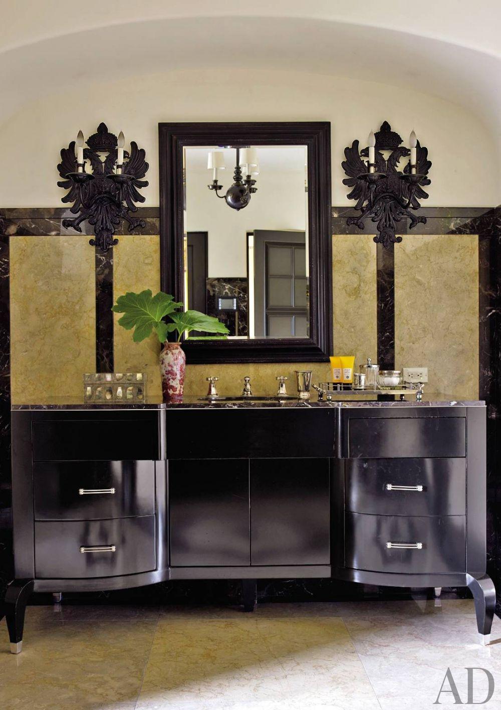 Madeline bathroom vanity - Traditional Bathroom Madeline Stuart Associates Los Angeles 201104