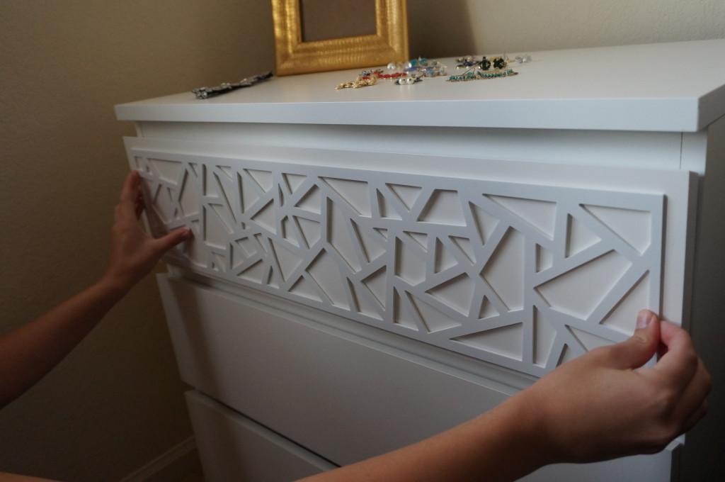 Gold Standard Women Ikea Hack Overlays Decorating Dresser