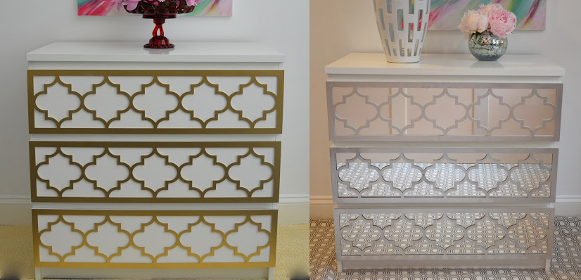 Ideal Add Instant Glam To Your Ikea Furniture Using Overlays Et02