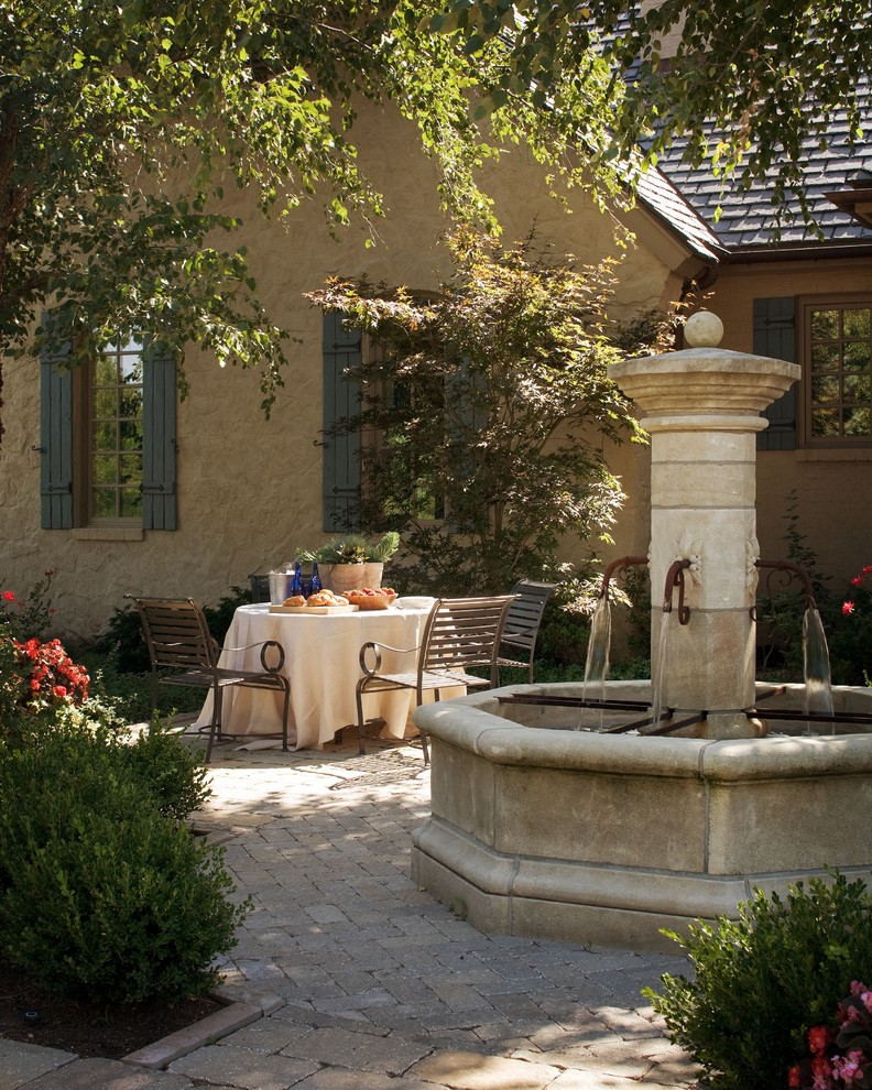 Dining alfresco the key essentials to fabulously eating for French country courtyard