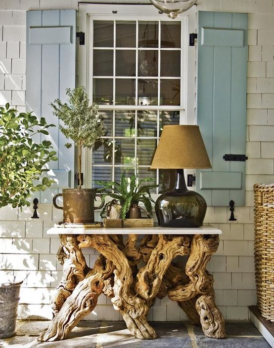 drift wood table top recycle diy how to