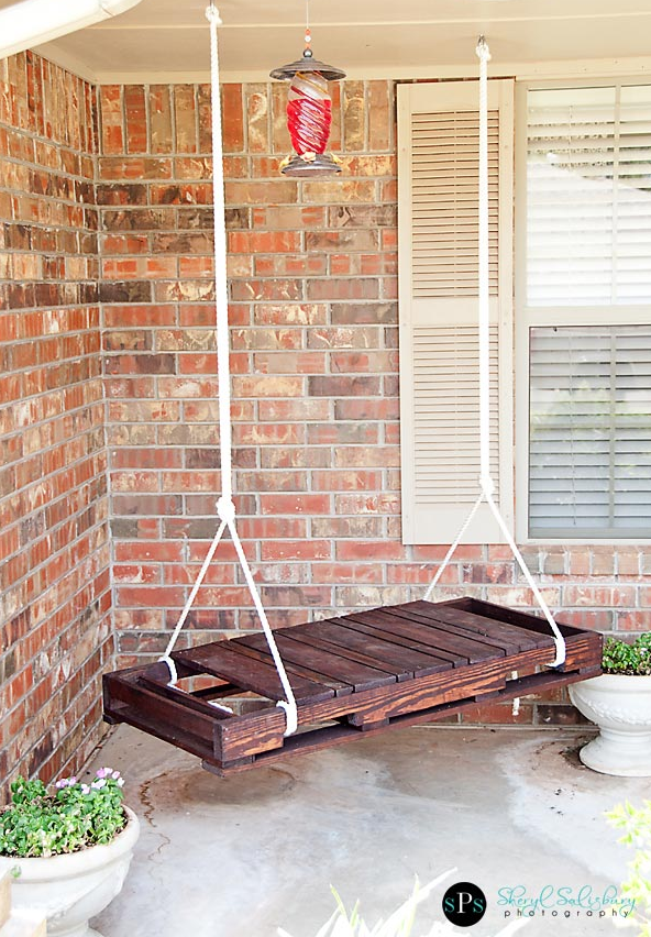 palette swing bench diy easy recycle better decorating bible blog