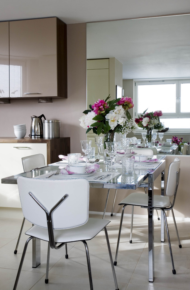Magically transform a small space with these 5 creative for Small dining room big table