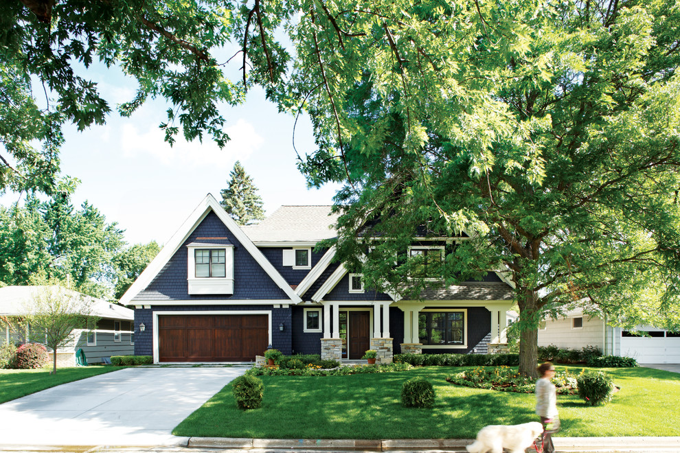 Weekend makeover 6 ways to smarten up your homes exterior - Door colors for brown house ...