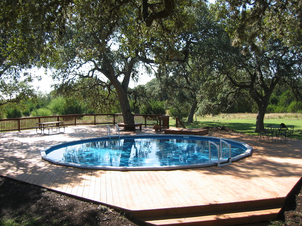 Swimming pools 101 get to know these 3 important types for Round swimming pools above ground