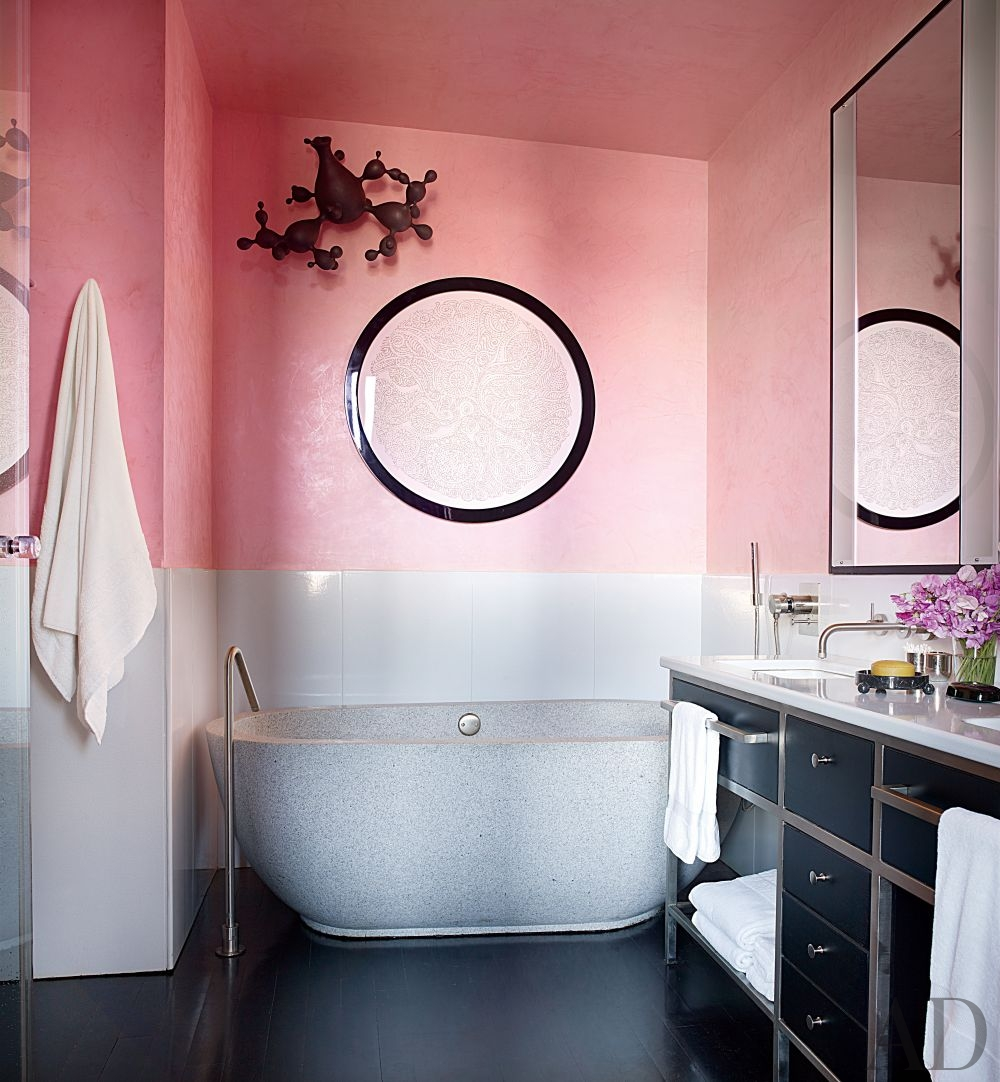 Plaster walls make your walls pop with these amazing for Bathroom york
