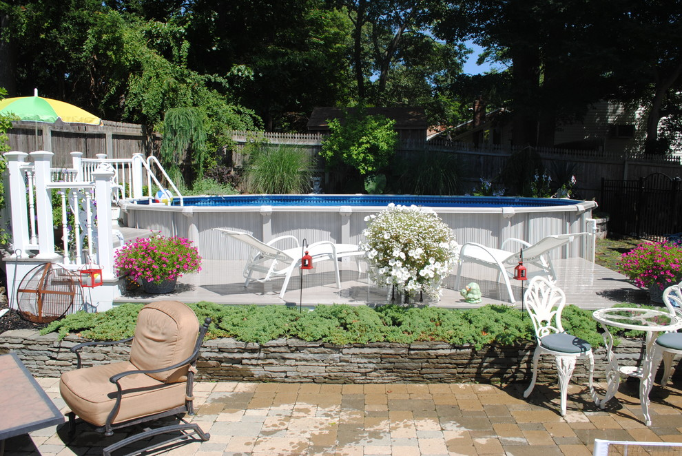 Swimming pools 101 get to know these 3 important types - Above ground pool decor ...