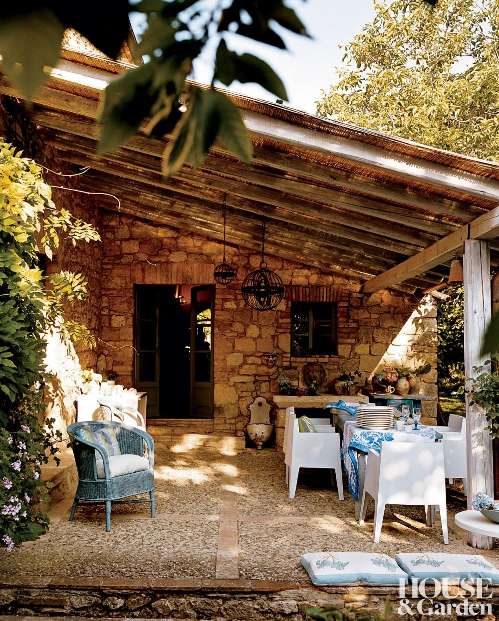 Tuscan Backyard Decor : Patio Season Revamp Makeover Your Backyard Landscaping with these