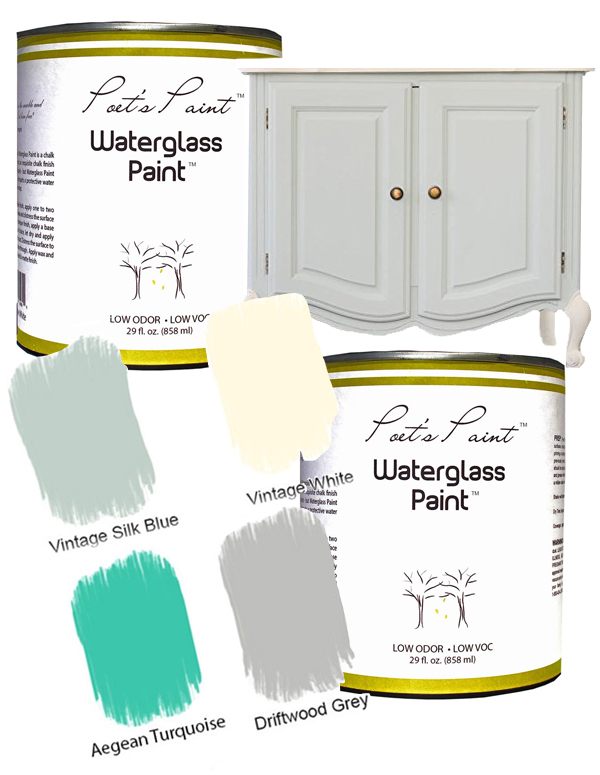 2 poets paint water glass chalk paint decorating furniture drift wood washed out look easy cheap affordable better decorating bible blog