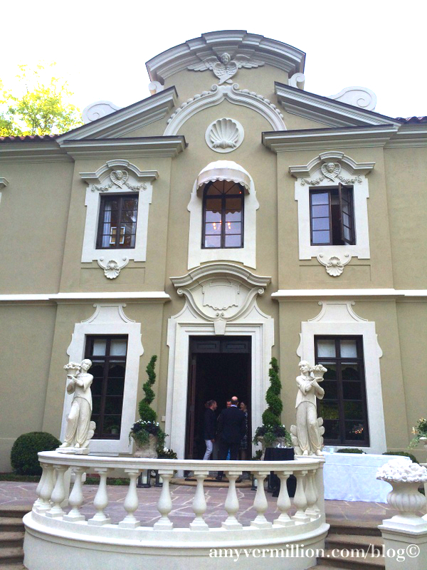 This Beautiful Family Home In Atlanta Previously Known As The Pink Palace It Used To Be Is A Miraculous Italian Baroque Style Work Of Art