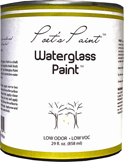 poets paint waterglass chalk paint furniture