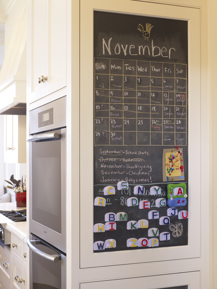 family command center organize bulletin chalk board ideas