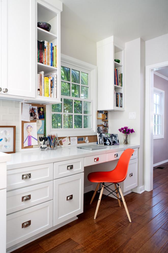 mini kitchen hallway office get organized command center