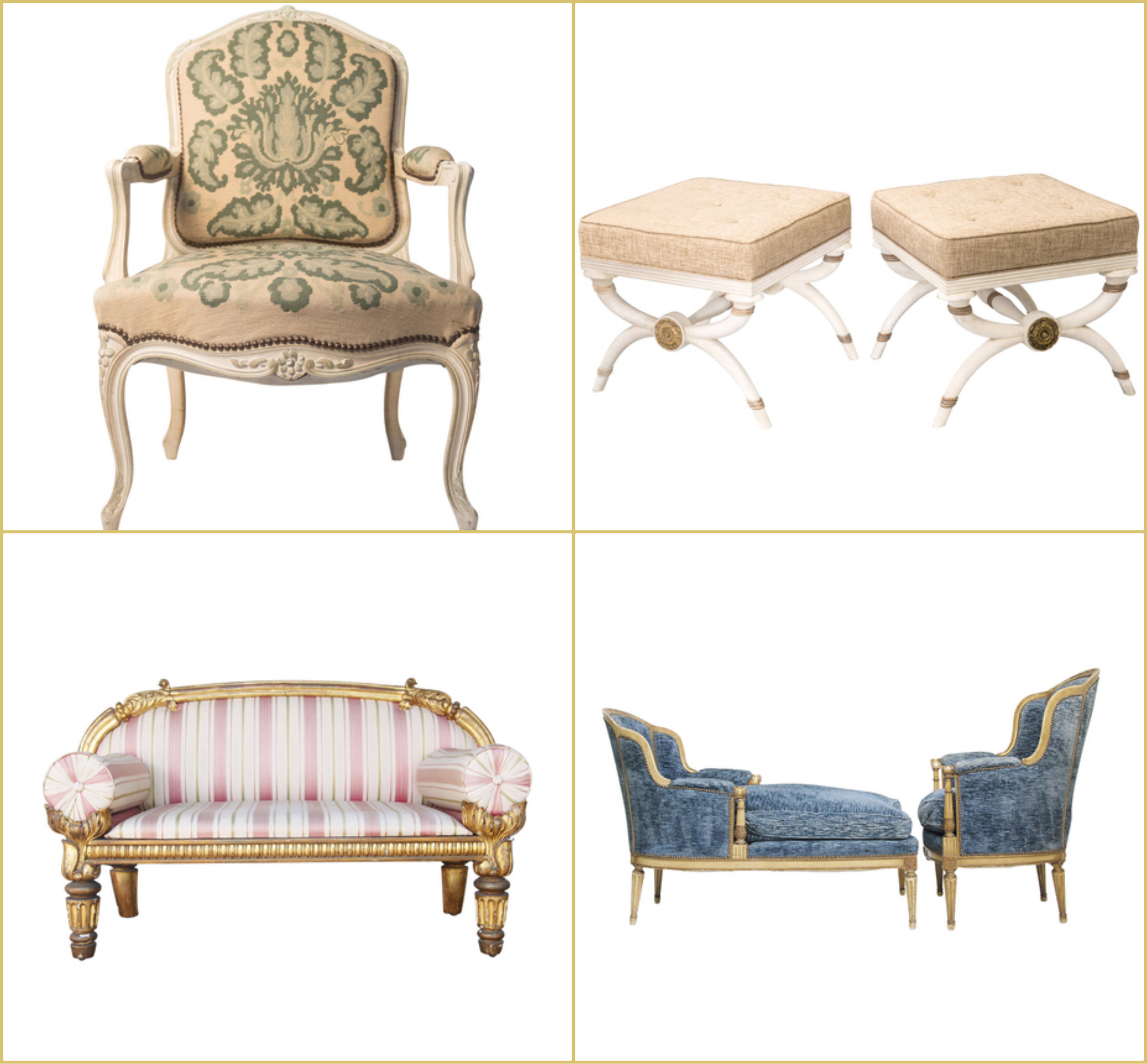 the high boy online antique dealer decorating french louis xvi chair yellow blue gold striped bench seat sofa better decorating bible blog online antiques shop buy italian site like 1st dibs 1