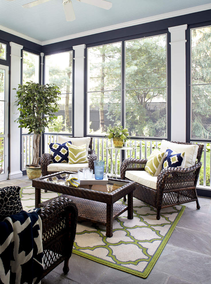 Bring summertime back by decorating with multi functional Screened in porch decor