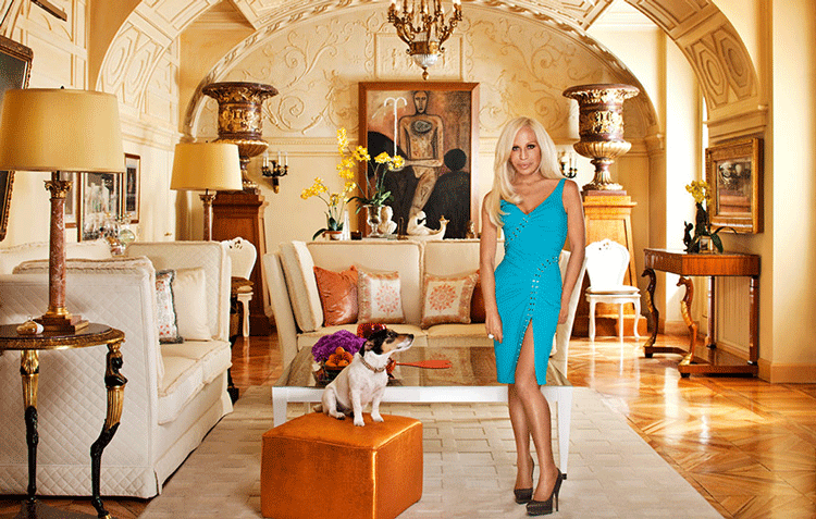 donatella versace living room decorating celebrity sneak peak home tour better decorating bible blog