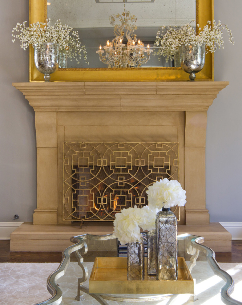gold fireplace screen glam on a budget better decorating bible blog interior design ideas cheap chic