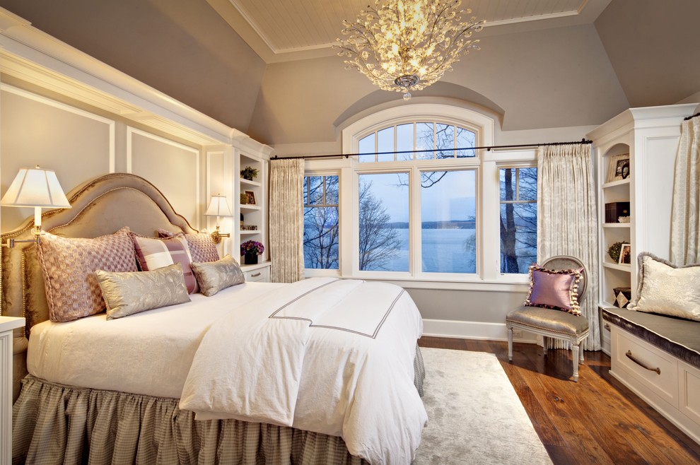 guest bedroom decorating ideas how to silk headboard studded soft blush pink gray ceiling stacked mattreses make bed higher cathedral ceilimg moldings on wal better decorating bible blog