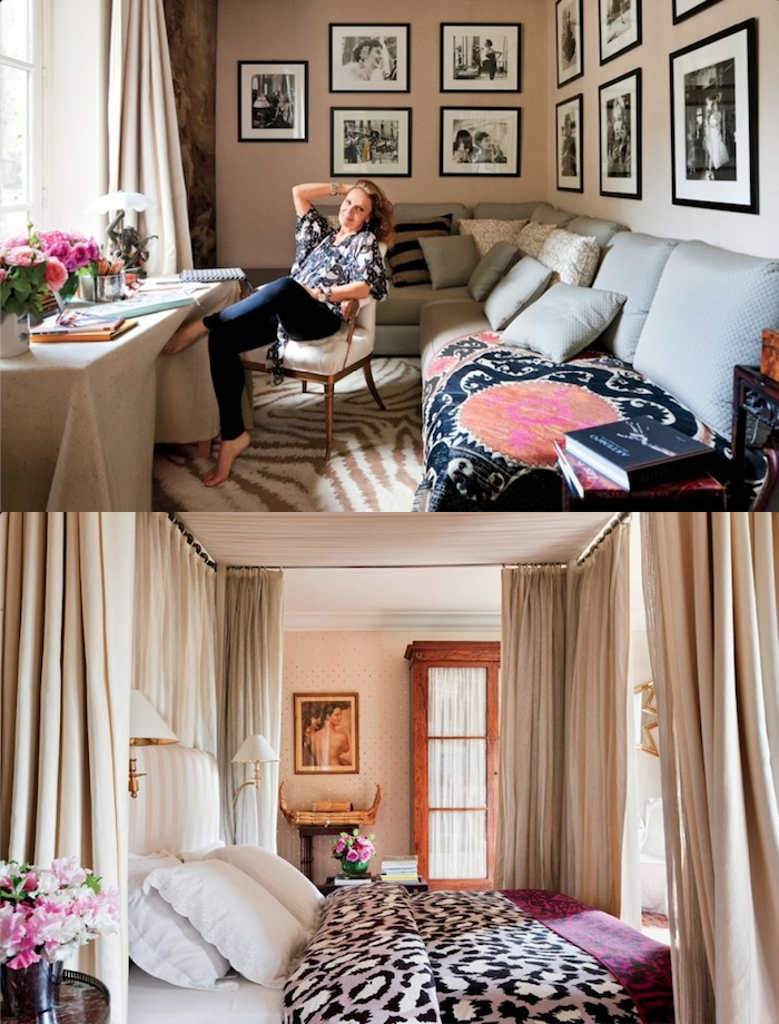 1 house of dvf diane von furstenberg penhouse tour inside celebrity homes new york penthouse office sneak peak better decorating bible blog