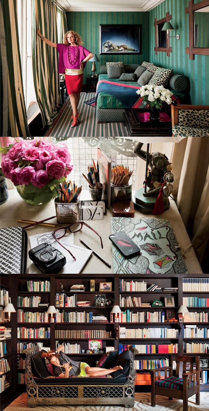 2 house of dvf diane von furstenberg penhouse tour inside celebrity homes new york penthouse office sneak peak better decorating bible blog