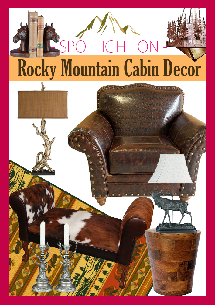 Rocky Mountain Cabin Decor Review Western Decorating Ranch Cottage Log Rustic Wagon Chandeliers