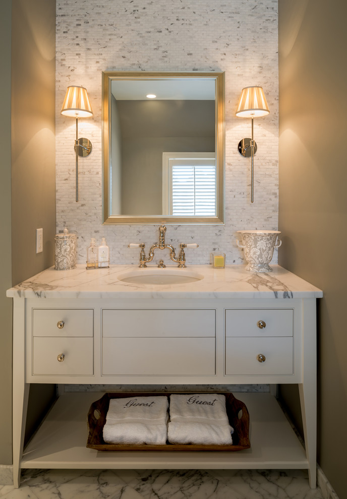 Pamper up easy ideas to give your bathroom instant spa style - Home decor bathroom vanities ...