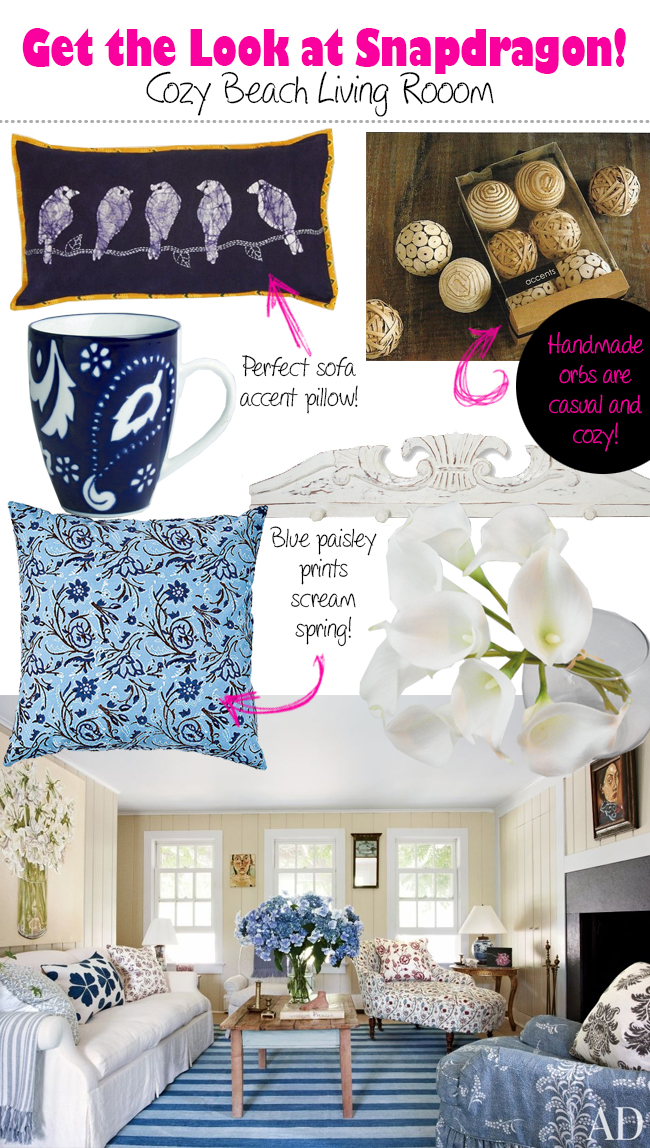 snapdragon home decor online shop kitchen tableware pillows ikat paisley hand painted handmade wooden orbs kingston Massachusetts unique finds country style review better decorating bible blog boutique shopping accents pretty and practical