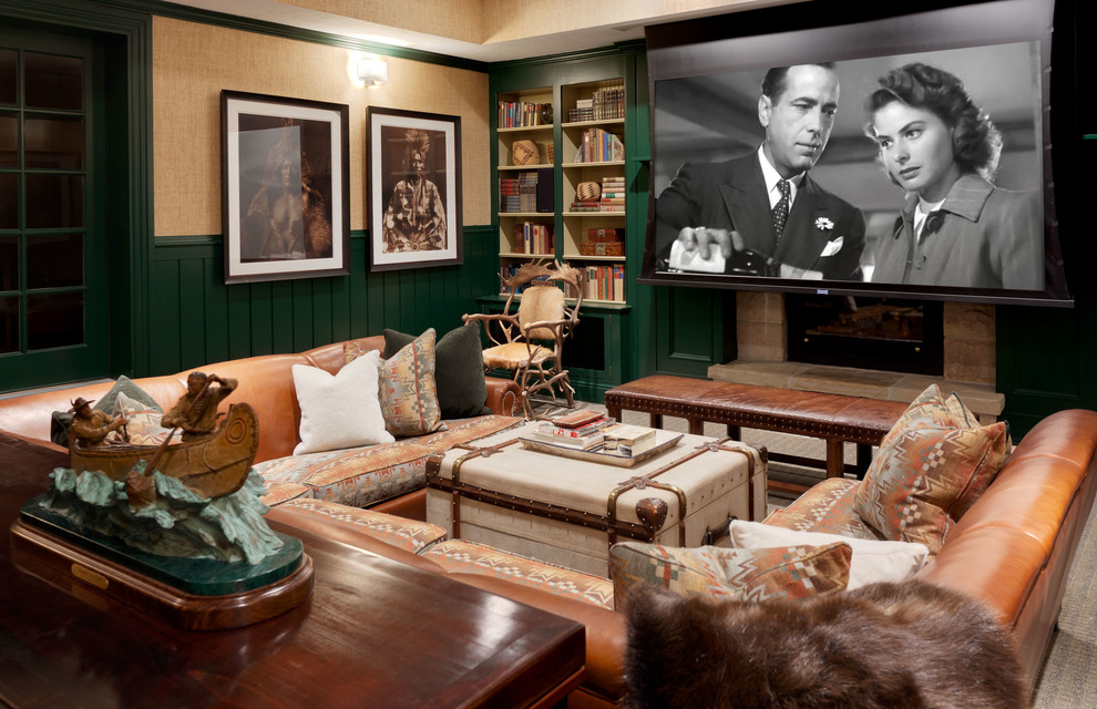 home theatre movie room decorating ideas