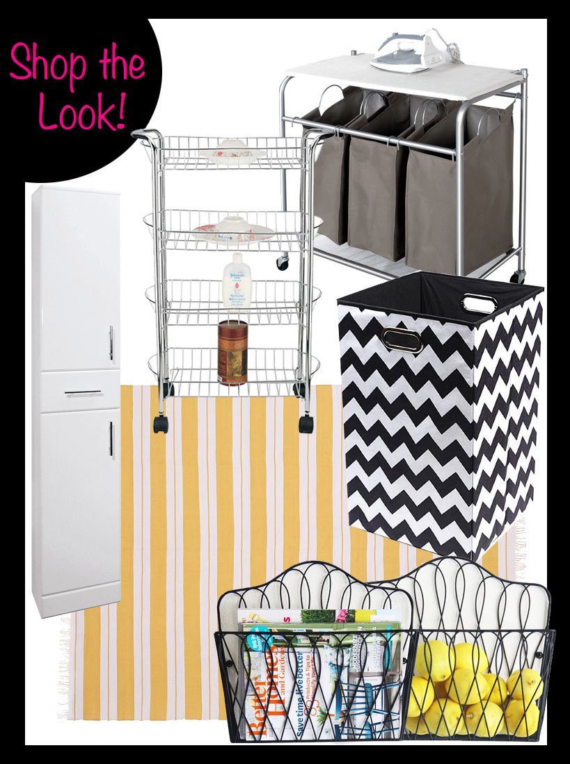 laundry room decor fads furniture shop the room better decorating bible blog ideas pottery barn yellow rug chevron laundry basket storage ideas