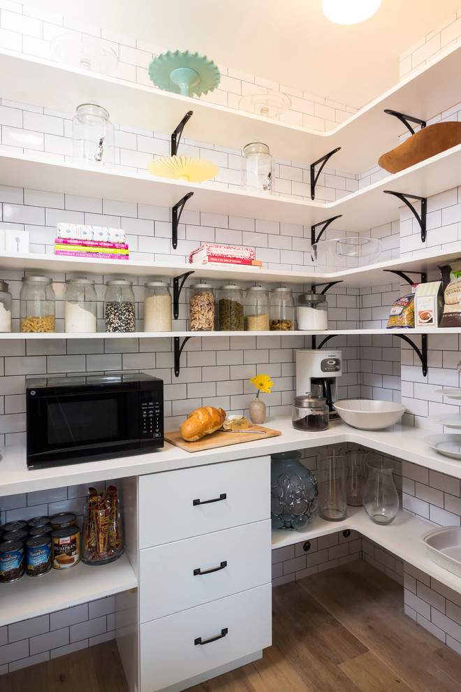 laundry room pantry decor how to storage space shelves