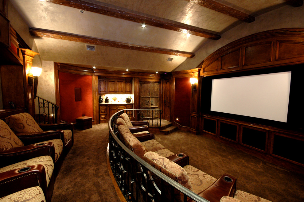movie theater decor. Black Bedroom Furniture Sets. Home Design Ideas