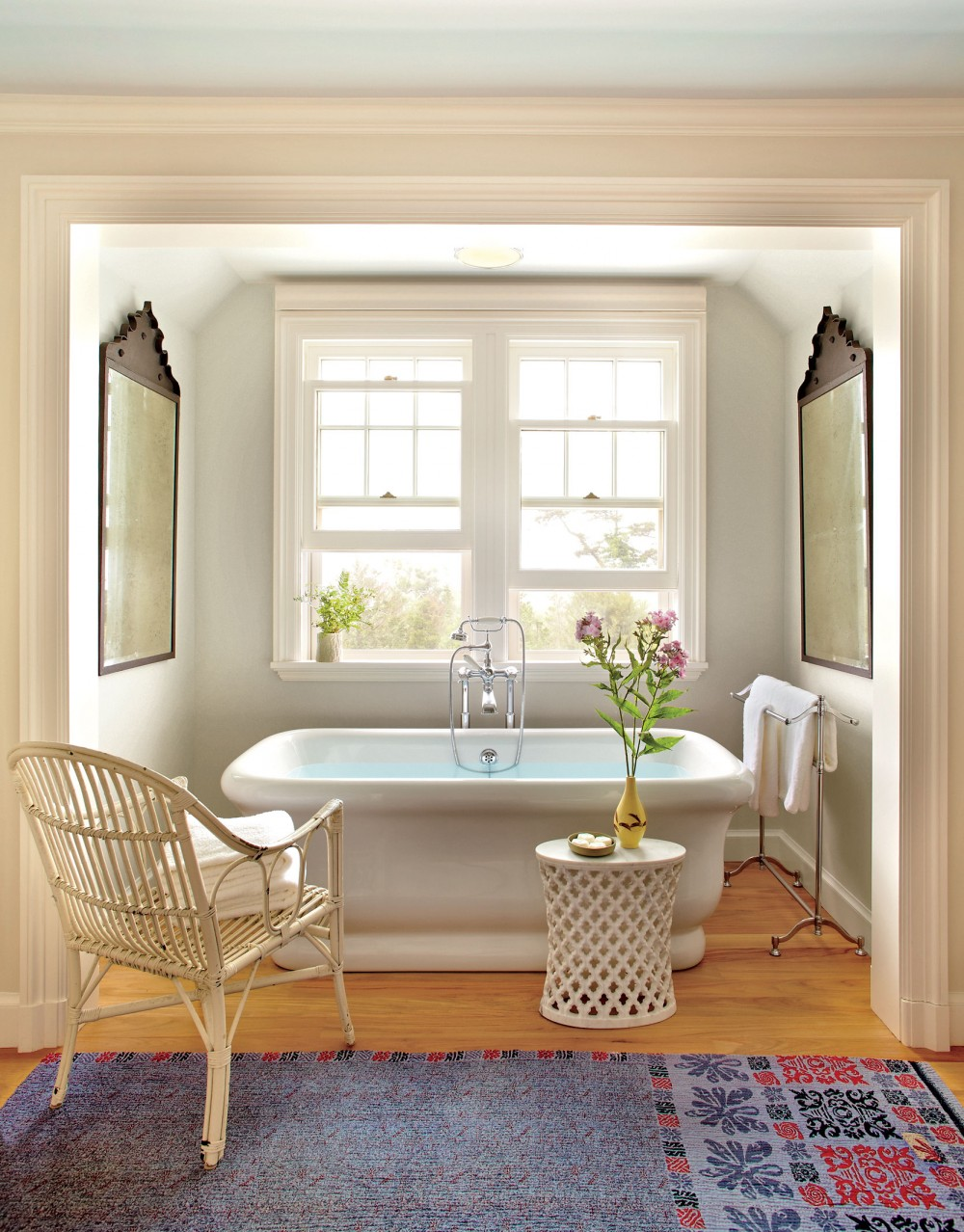 Chic and Cheap Spa-Style Bathroom Makeover ...