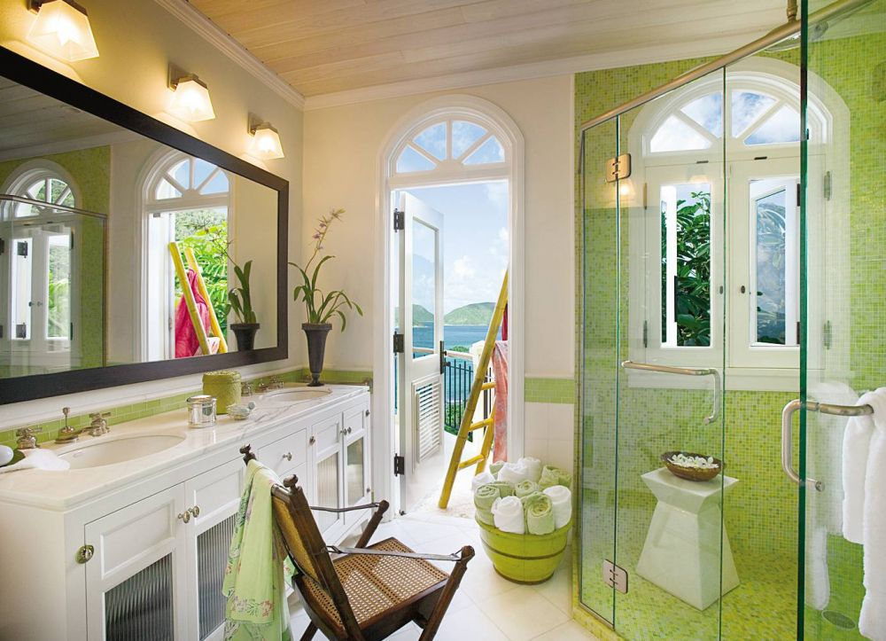 green bathroom punchy hue spa ideas better decorating bible blog stay cation