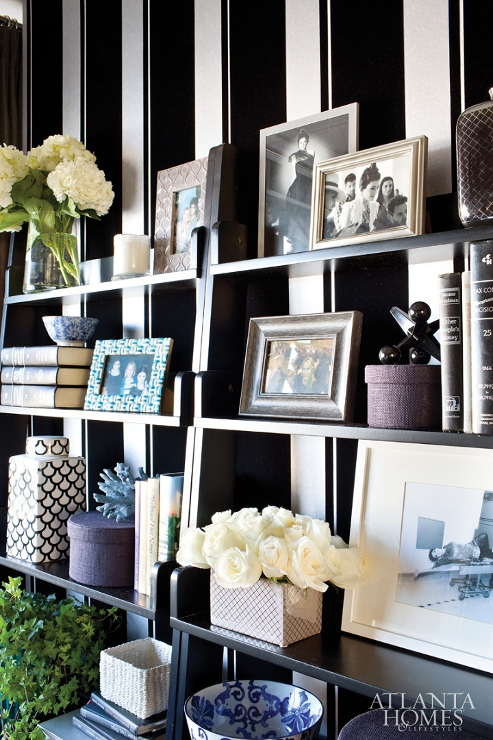 how to decorate style bookshelves