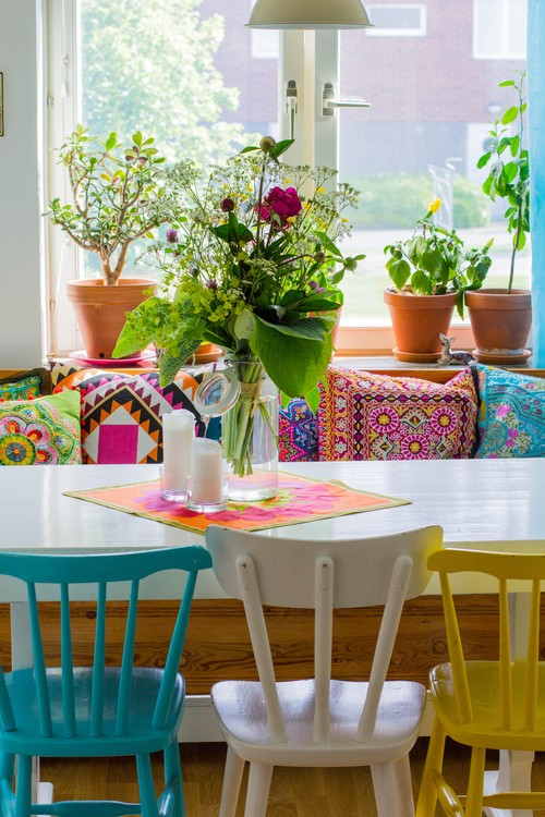mismatching dining chairs better decorating bible how to paint diy
