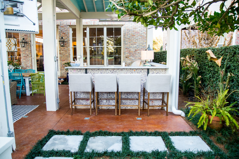 7 Patio Must-Haves for Summer Entertaining ... on Bar Patio Ideas id=60787