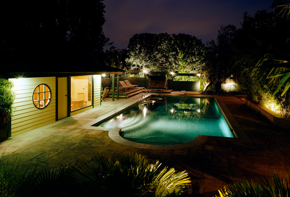 pool security night time how to make safter