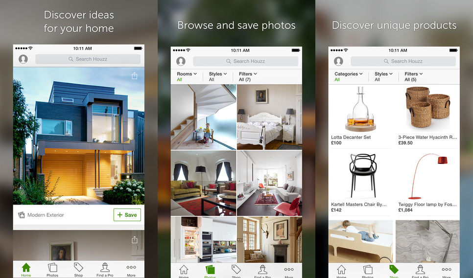 2 the best decorating apps houzz mobile app shopping ideas design better decorating bible blog - Decorating Apps