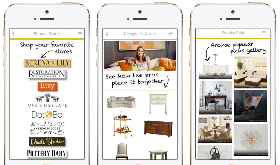 Interior design apps for iphone for Top interior design blogs 2015